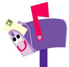 best blue s. Mailbox clipart blues clue