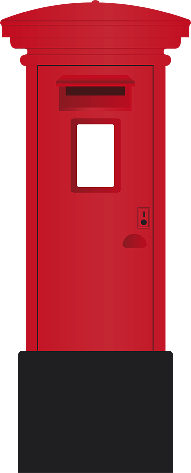Postbox png images free. Mailbox clipart buzon