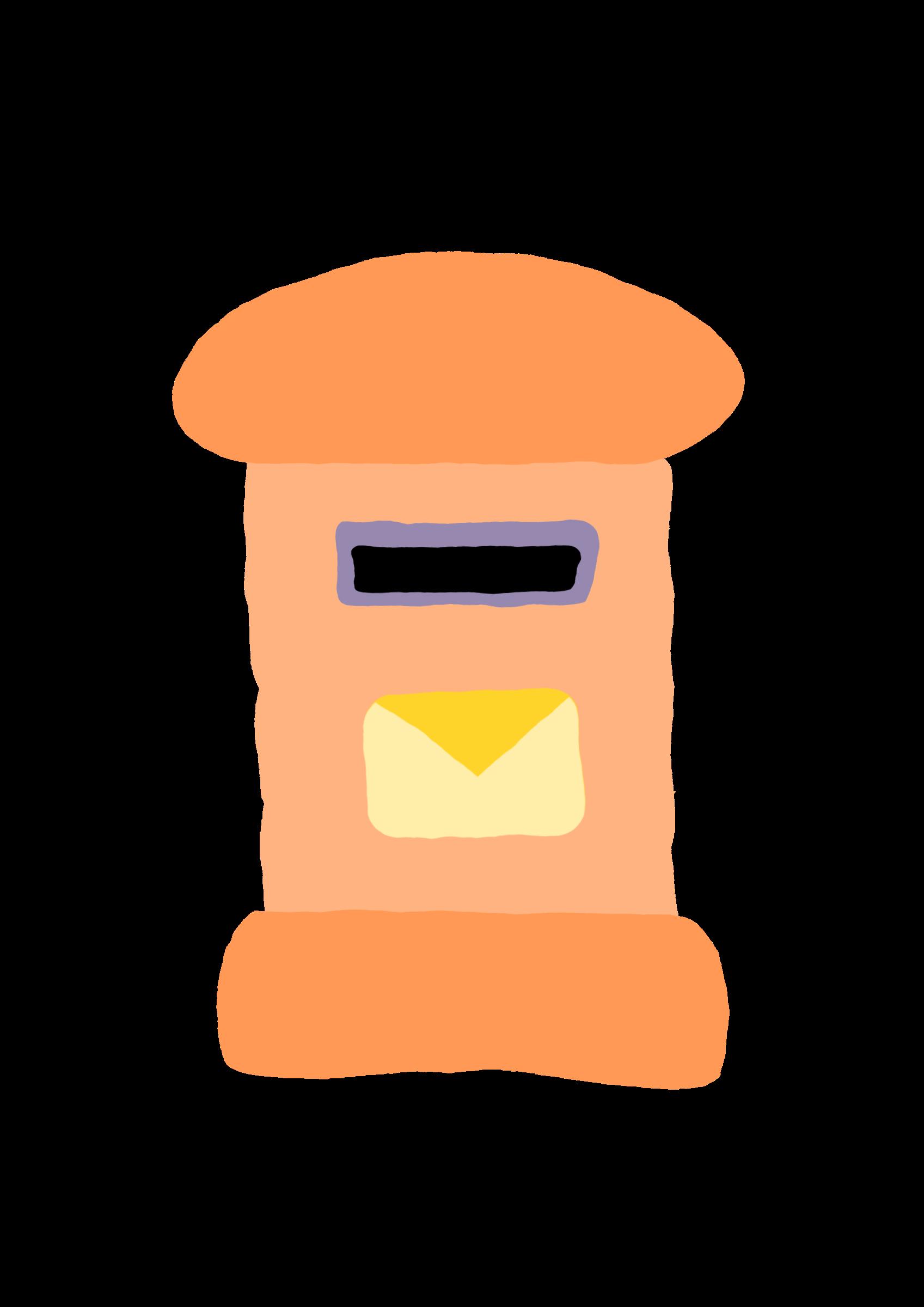Mailbox clipart buzon. Crooked postal big image