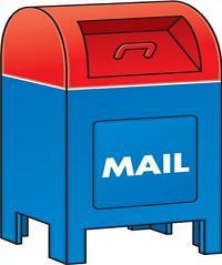 Free . Mailbox clipart cartoon
