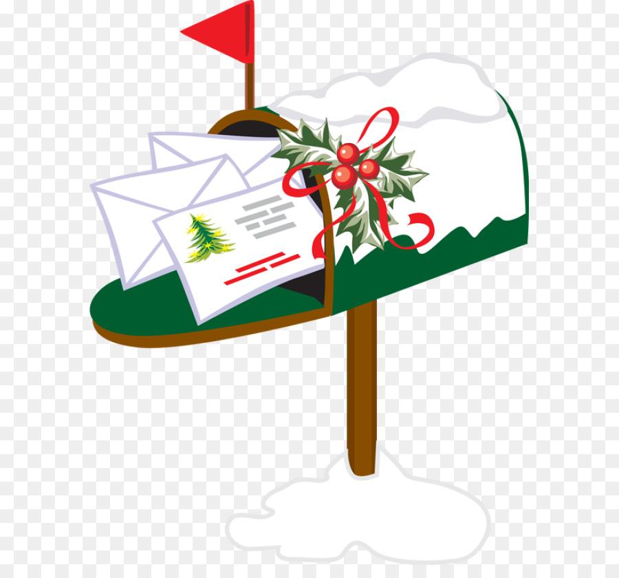 Mailbox clipart christmas. Flower tree leaf transparent