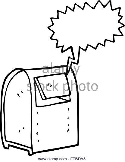 Mailbox clipart drawn. X free clip art