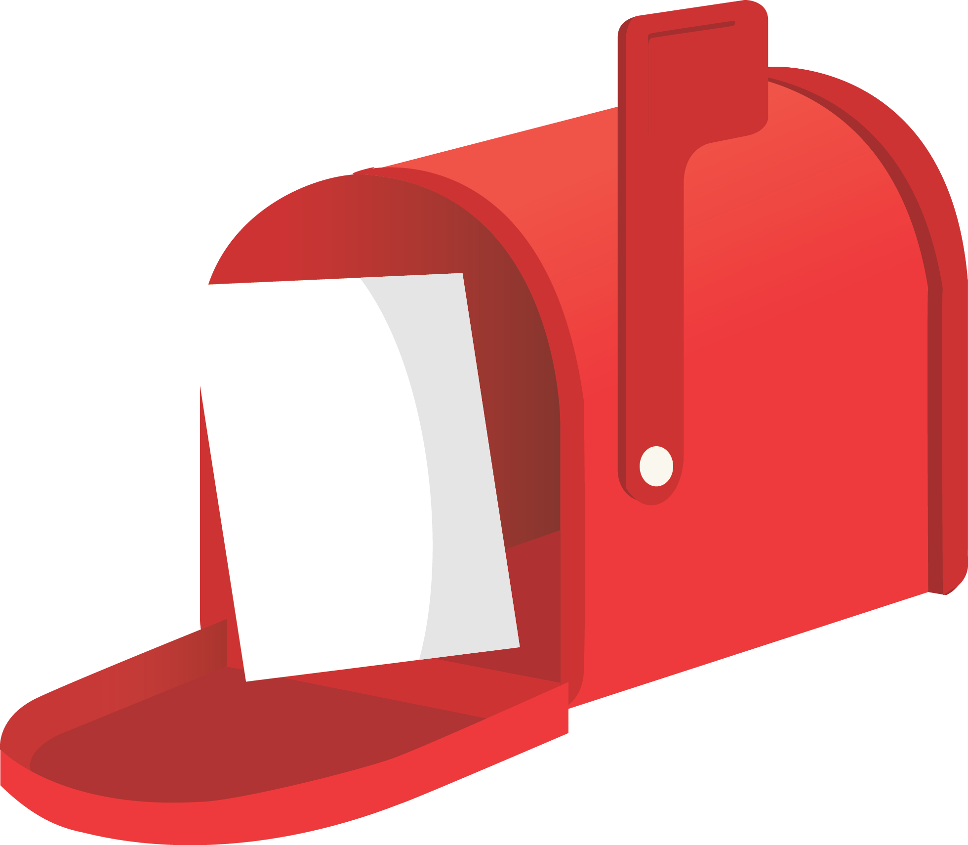 Mailbox clipart flat. Png transparent images free