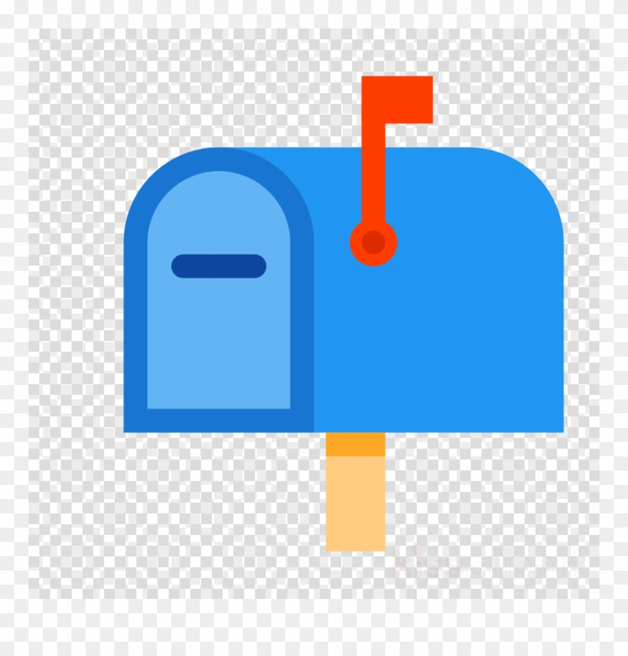 Icon letter box mail. Mailbox clipart flat