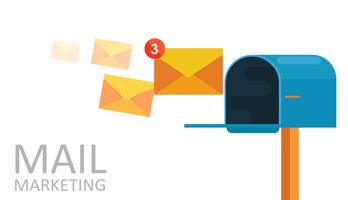 Mailbox clipart flat. Free vector art downloads