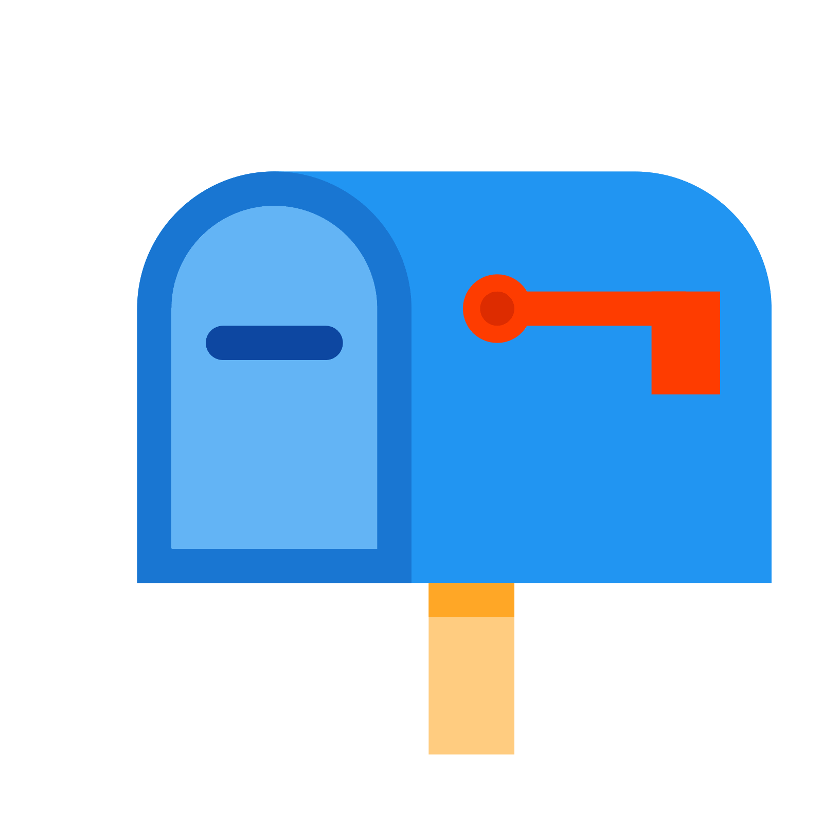 Png icon this is. Mailbox clipart flat