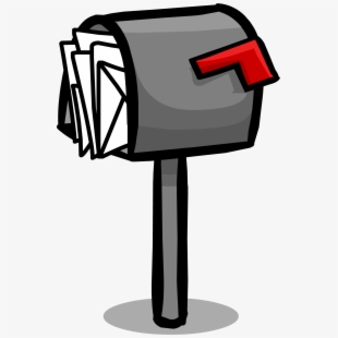 Mailbox clipart full mailbox. Green free cliparts on