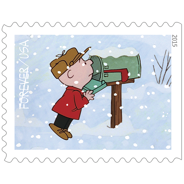 Mailbox clipart holiday. A charlie brown christmas