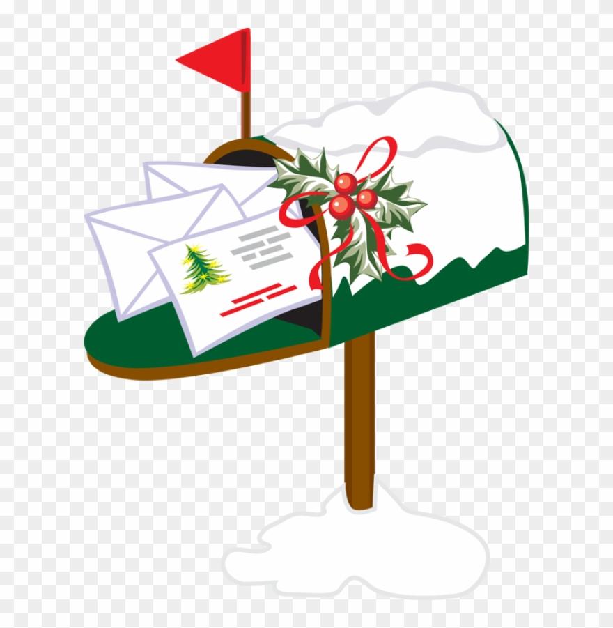 Mailbox clipart holiday. Christmas png