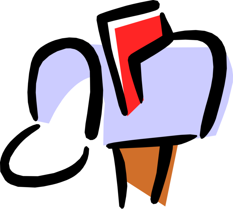 Letter box or receives. Mailbox clipart incoming mail