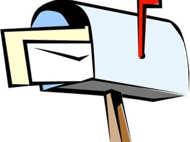 X free clip art. Mailbox clipart mail border