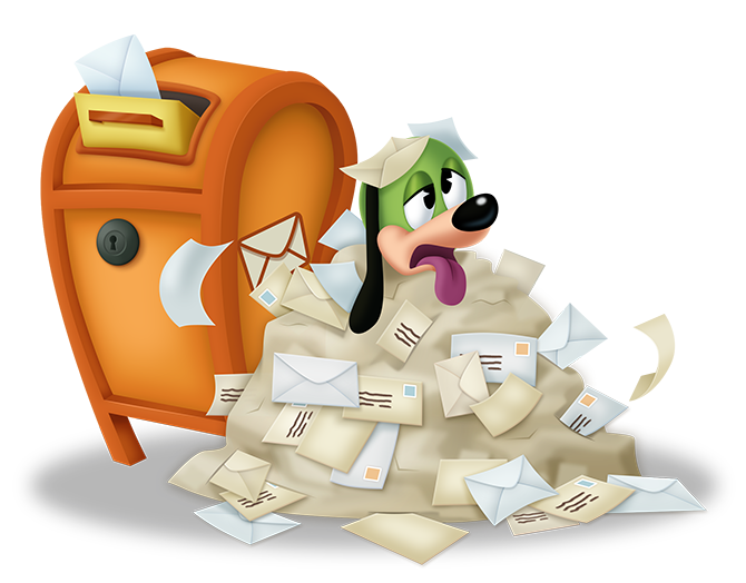 Mailbox clipart mail delivery. Member mailers toontown rewritten