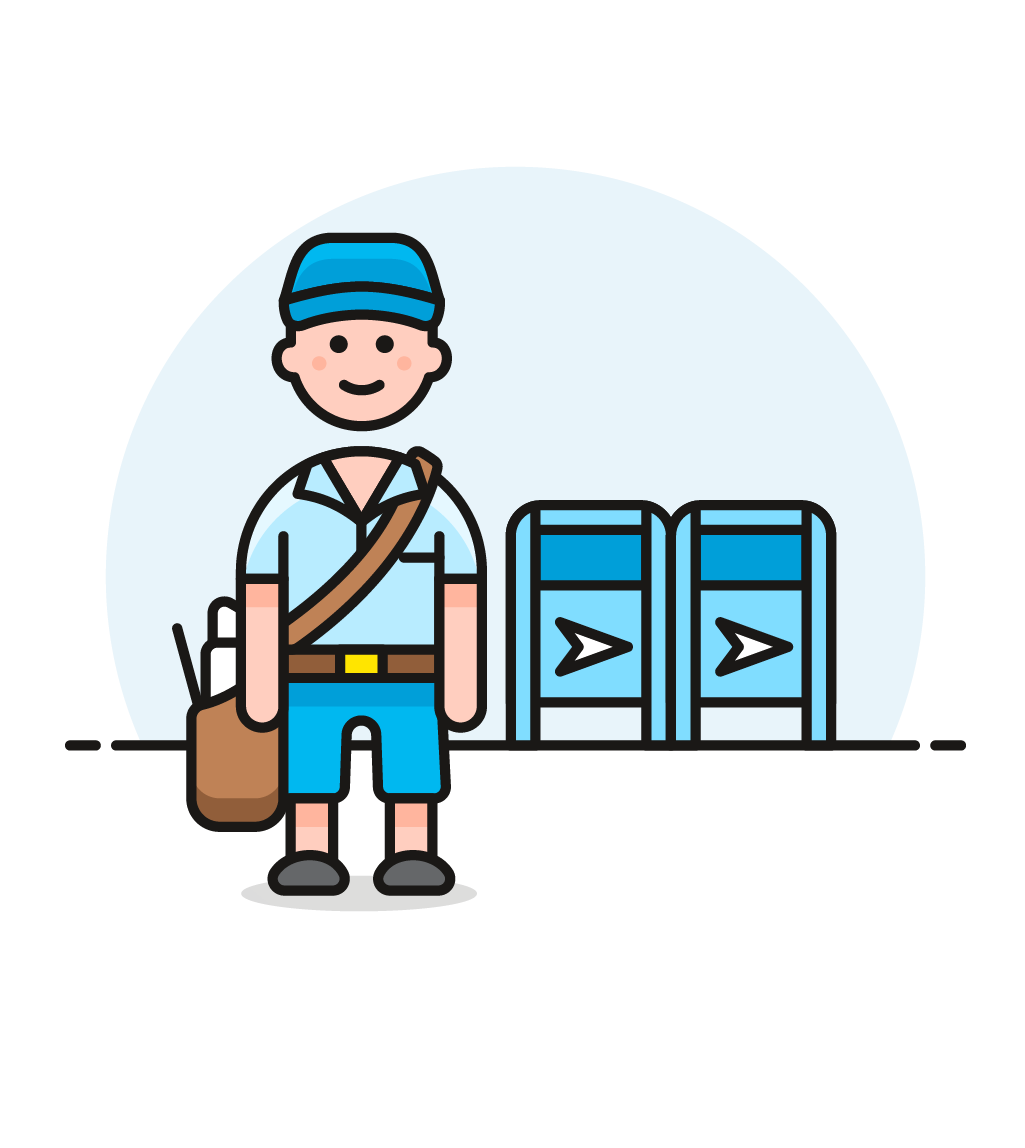 Icon image creator pushsafer. Mailbox clipart mail truck
