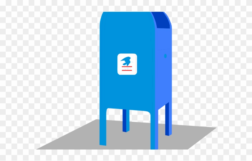 Usps png download . Mailbox clipart mailbox post office