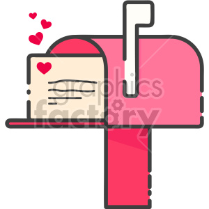 Mailbox clipart pink. Royalty free images graphics