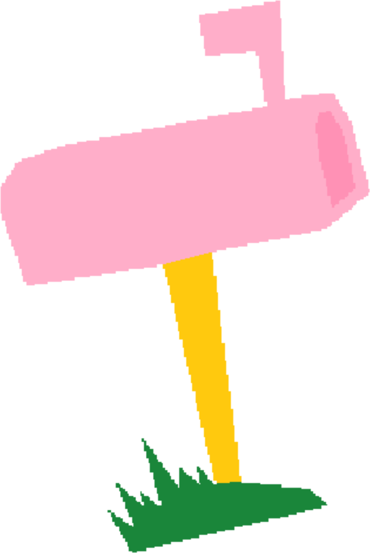 Big image png. Mailbox clipart pink