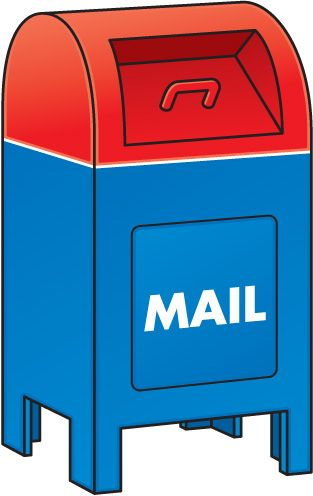 Image result for accessories. Mailbox clipart postal service