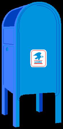 Mailbox clipart postal service. Clip art google search
