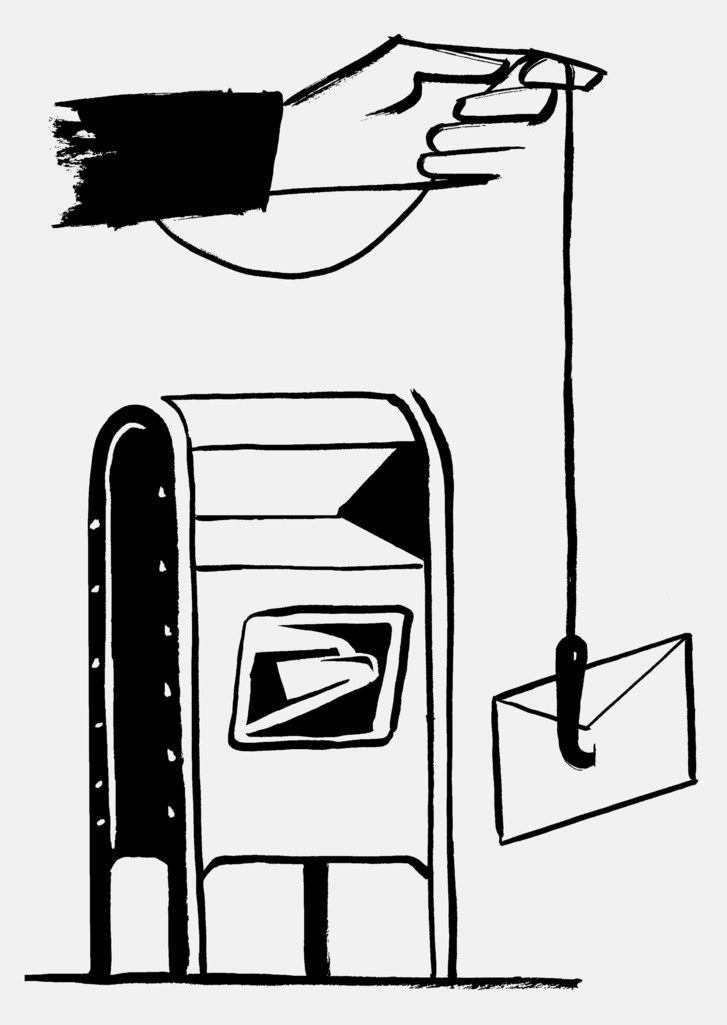 Mailbox clipart postal system. The cadillac of mailboxes