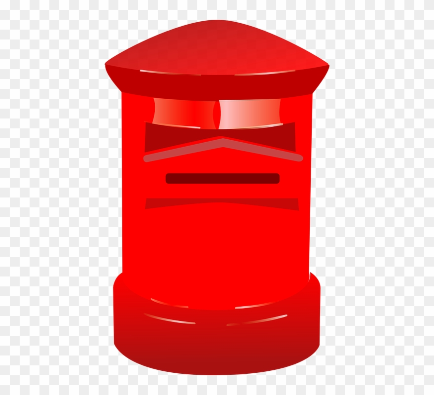 Post box png transparent. Mailbox clipart postbox