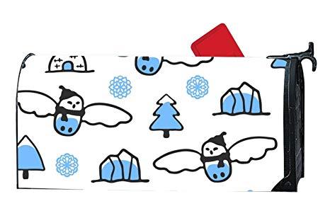 Mailbox clipart snowy. Amazon com xw fgf