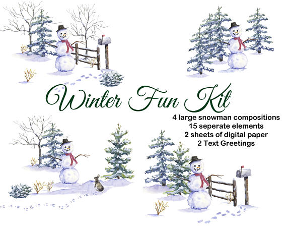 Pin on products . Mailbox clipart snowy