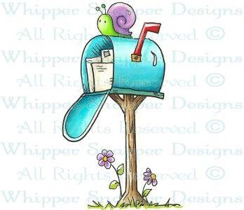 best snail clip. Mailbox clipart spring