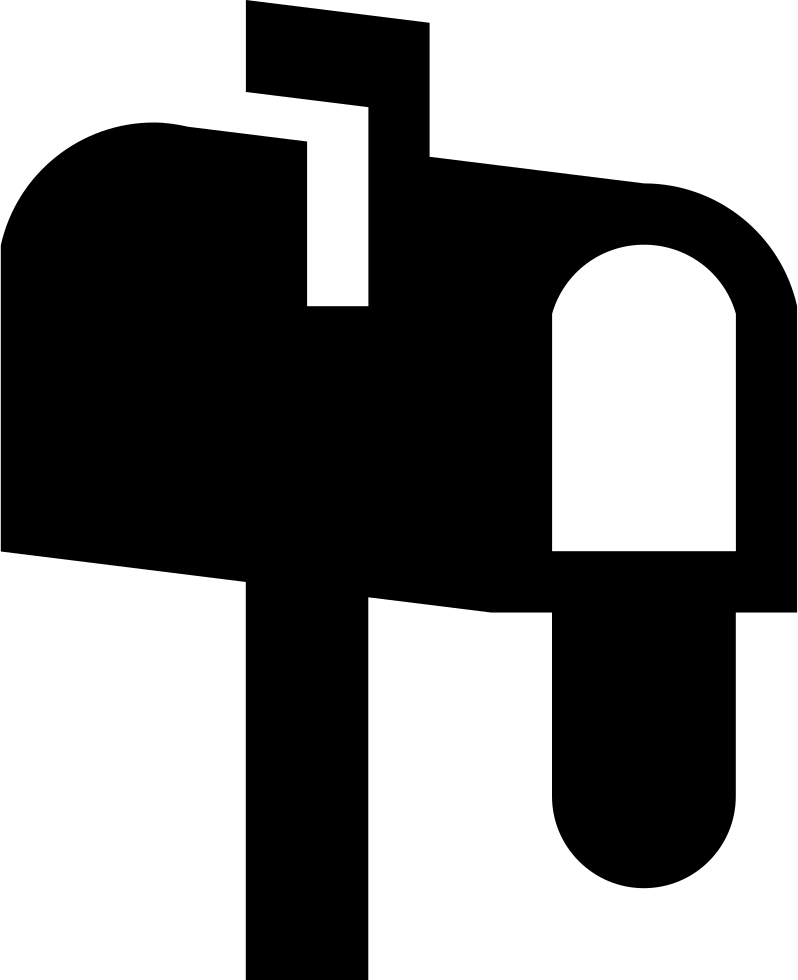 Mailbox clipart tool. Empty svg png icon