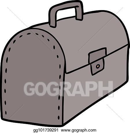 Mailbox clipart tool. Vector illustration cartoon box