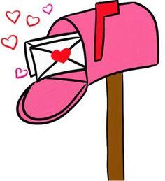 Station . Mailbox clipart valentine