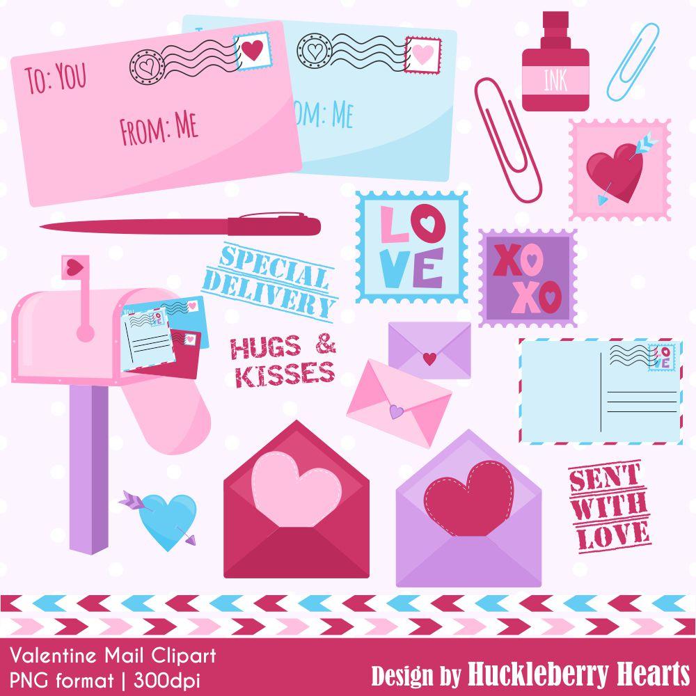 Mail . Mailbox clipart valentine