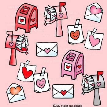 Trolls card heart drawing. Mailbox clipart valentine