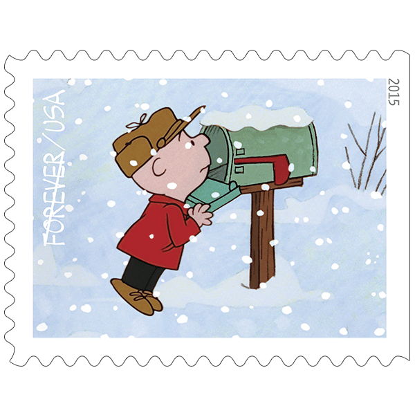 Mailbox clipart winter. A charlie brown christmas