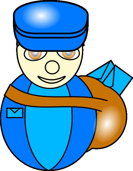 Mailman clipart. Clip art at clker