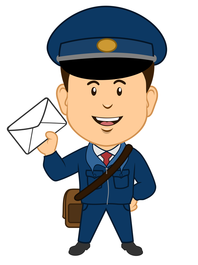 Mail clipart postal worker. Postman png image purepng