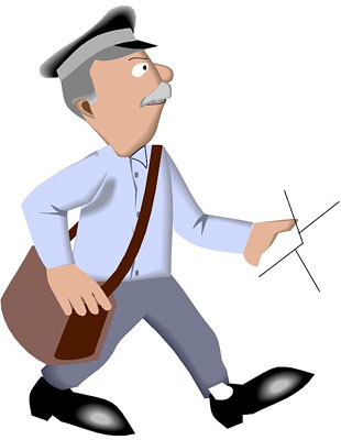 Us . Mailman clipart