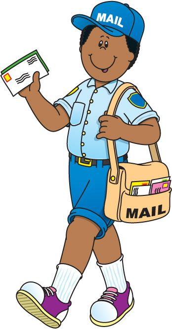 Mail clipart mail man.  mailman clipartlook