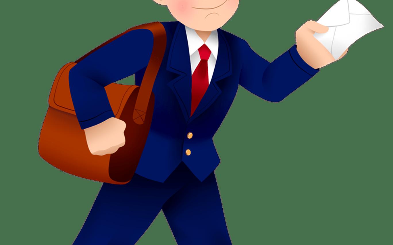 Mailman animated