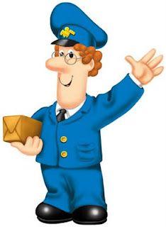 Mailman clipart kid. Postman pat kids cartoon