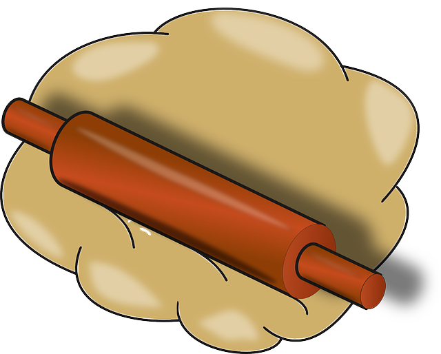 Make clipart bread. Baking utensils panda free