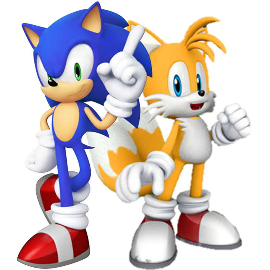 Image sonic and tails. Make clipart png
