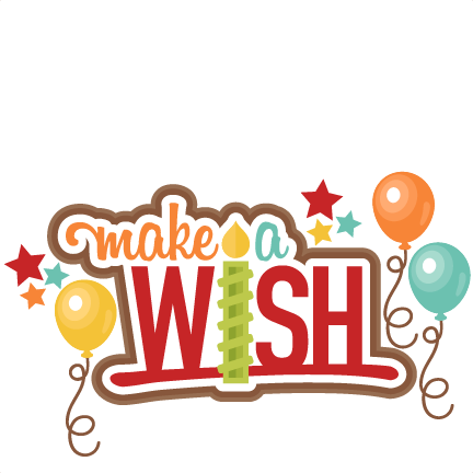 A wish title clip. Make png files