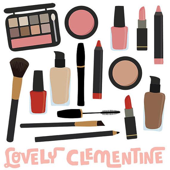 Makeup clipart. Clip art images vector