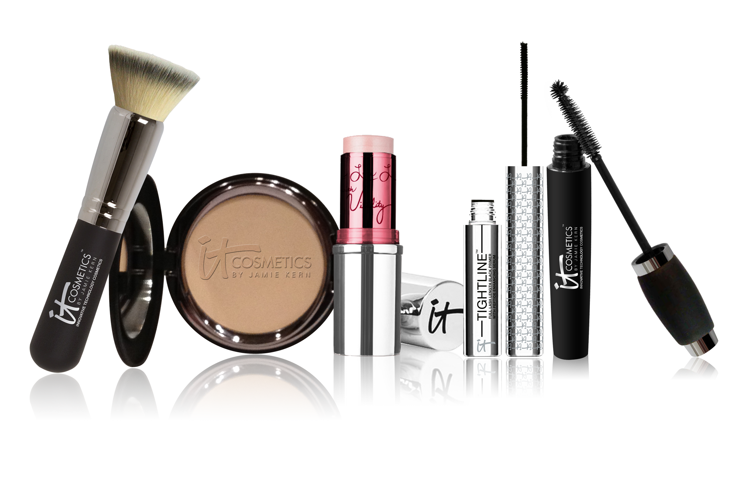 How to make png images. Makeup kit products transparent