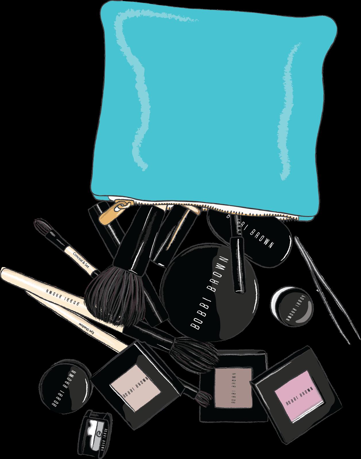 Makeup clipart fashion makeup. Emily kiddy bobbi brown