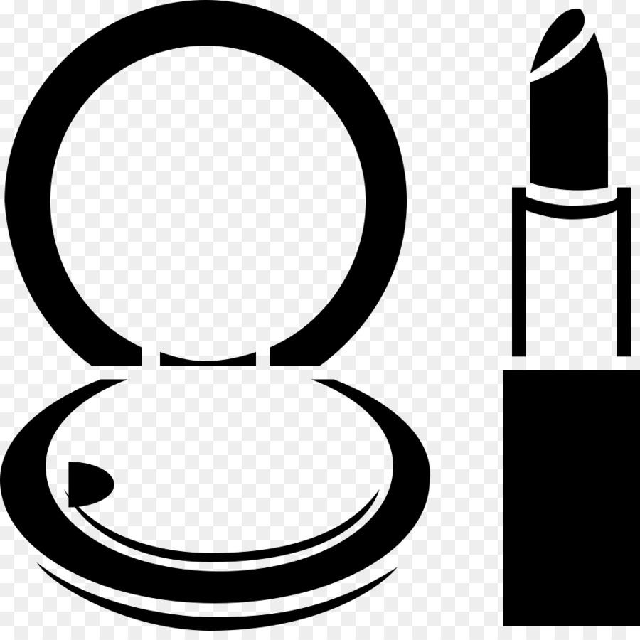 Cartoon cosmetics beauty line. Makeup clipart icon