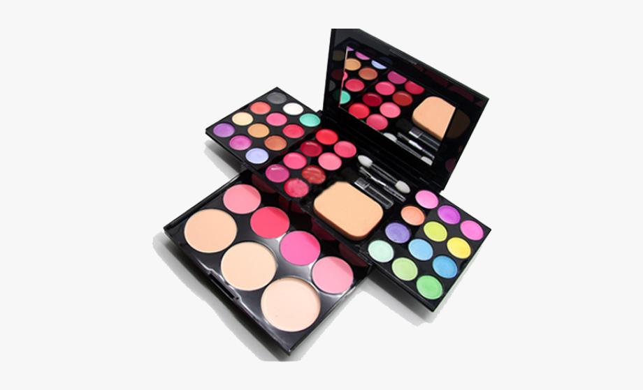 Makeup clipart makeup box. Set of make up