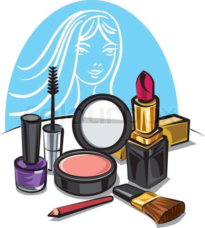 Makeup clipart makeup box.  kit products clipartlook