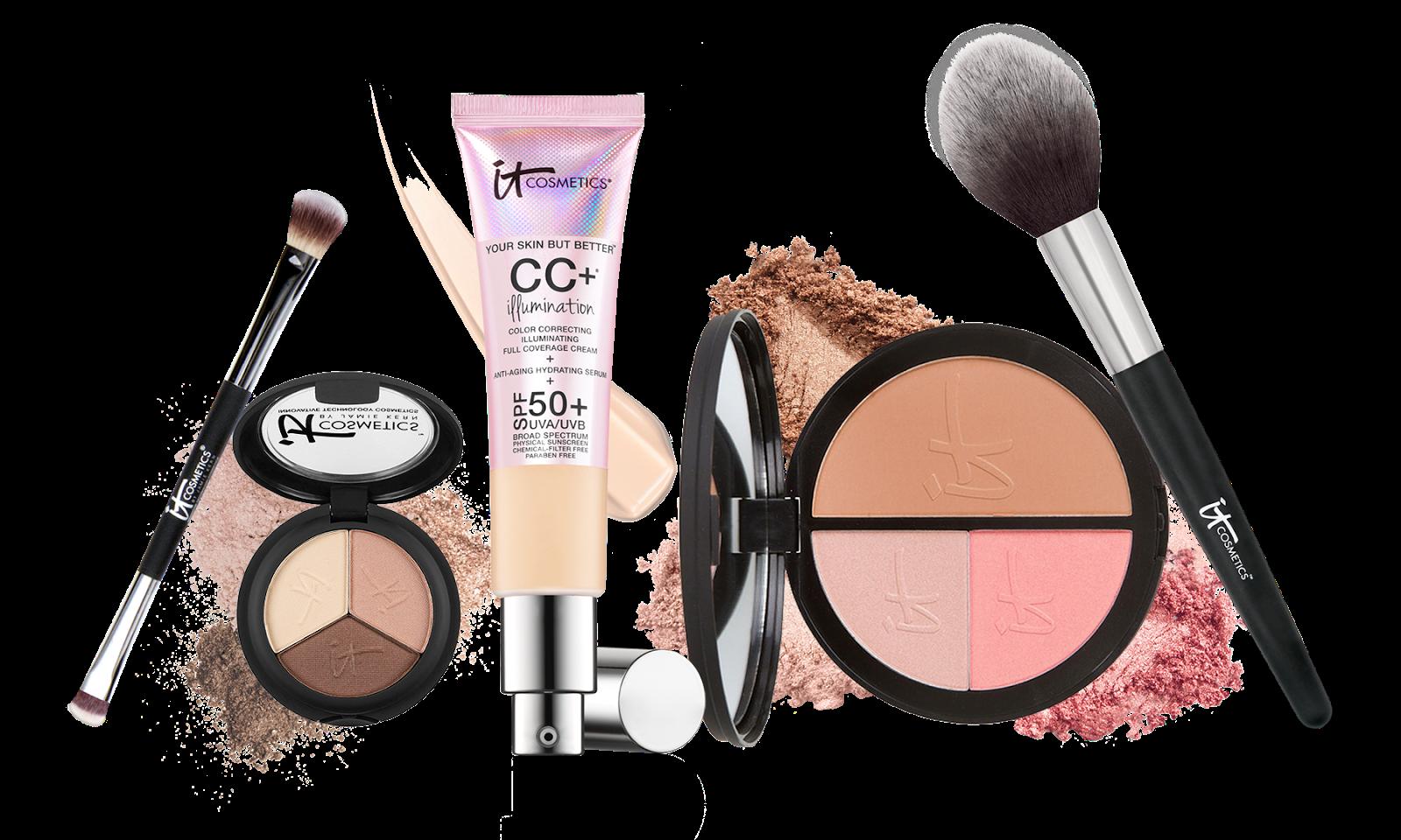 Makeup clipart makeup box. Kit products png transparent