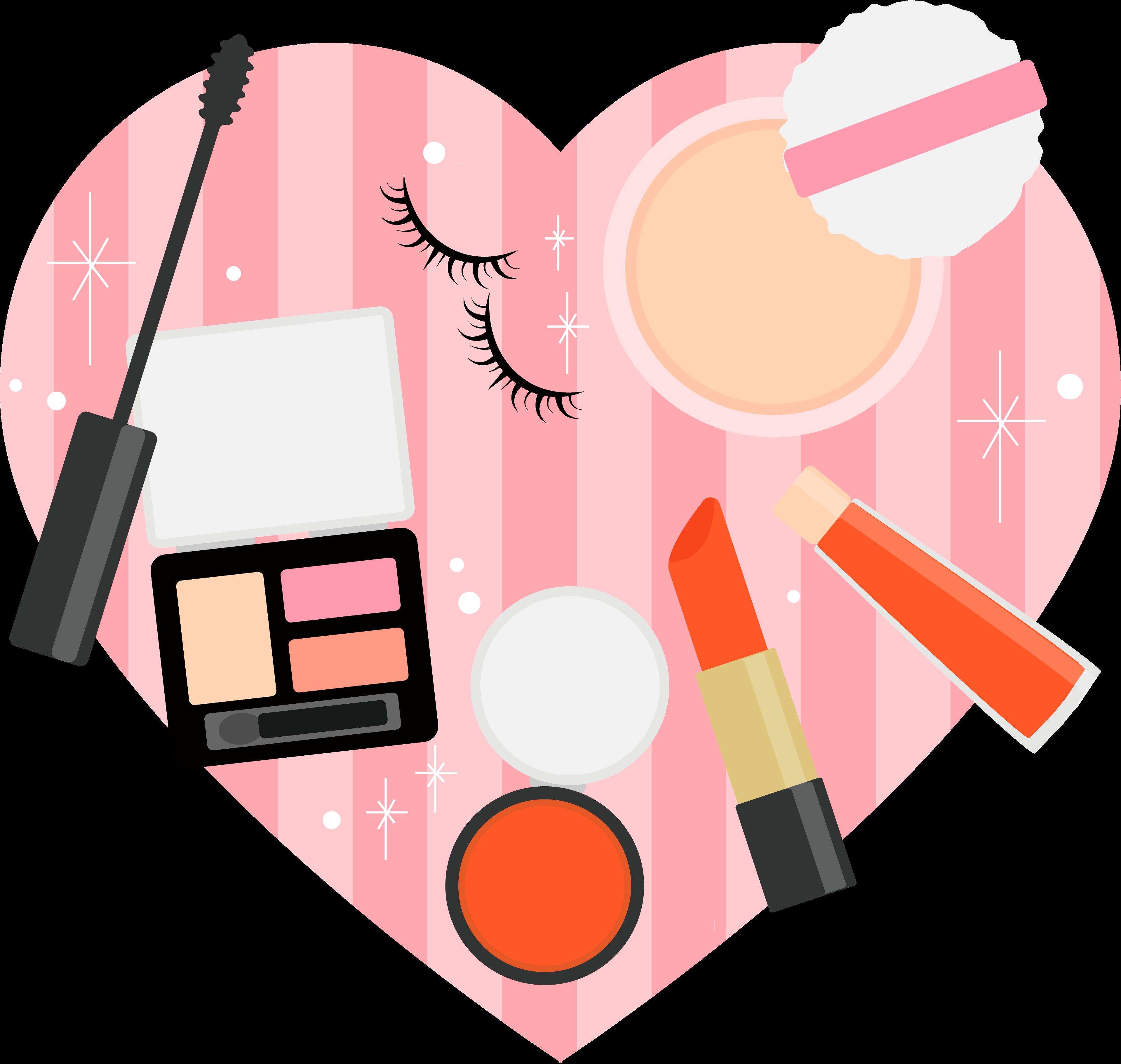 Buying products in shinjuku. Makeup clipart makeup store